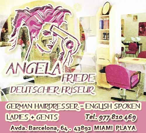 Angela Friede hairdresser